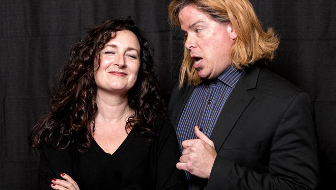 """Lab Theater's """"Burn This"""" stars Annette Trossbach and Paul Graffy."""