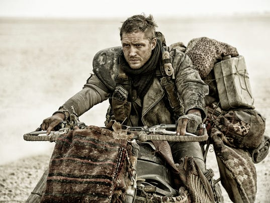 Tom hardy stars as max rockatansky in mad max fury road a warner