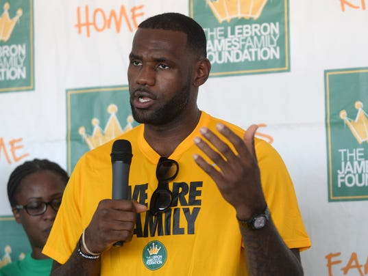 AP LEBRON COLLEGE SCHOLARSHIPS S BKN USA OH
