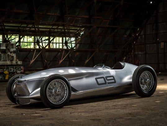 Infiniti introduces heritage-inspired prototype race car