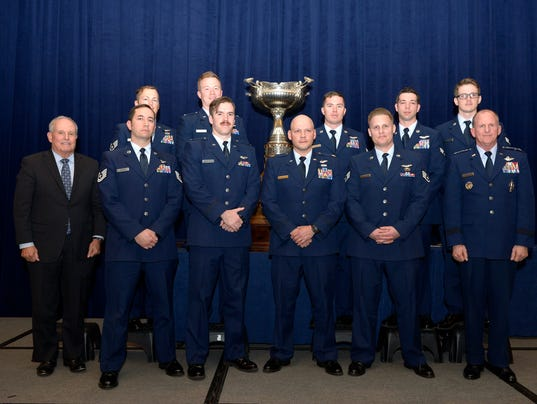 """Spooky 43"" aircrew honored during awards dinner"
