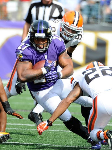 Former Ravens RB Ray Rice is certainly familiar with