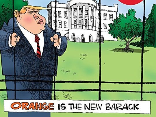 """Orange Is the New Barack' is the latest album from the Capitol Steps."