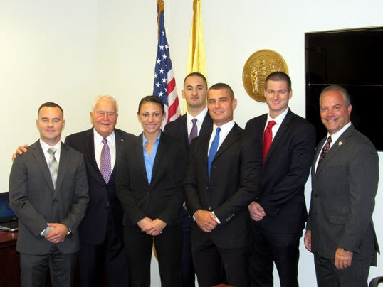 New Toms River police officers