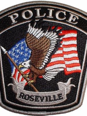 Roseville Police patch