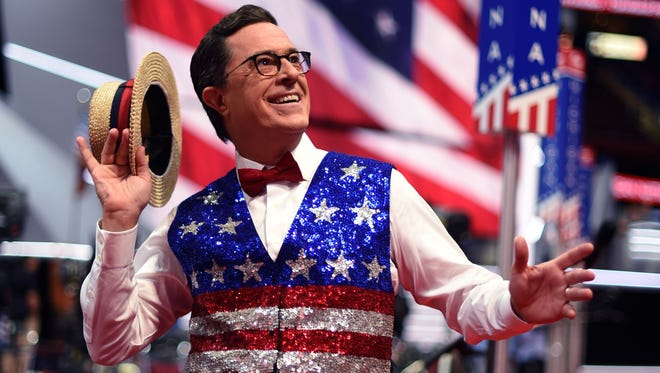 Stephen Colbert is taking a night off from 'The Late Show' Tuesday for a live election special on Showtime.