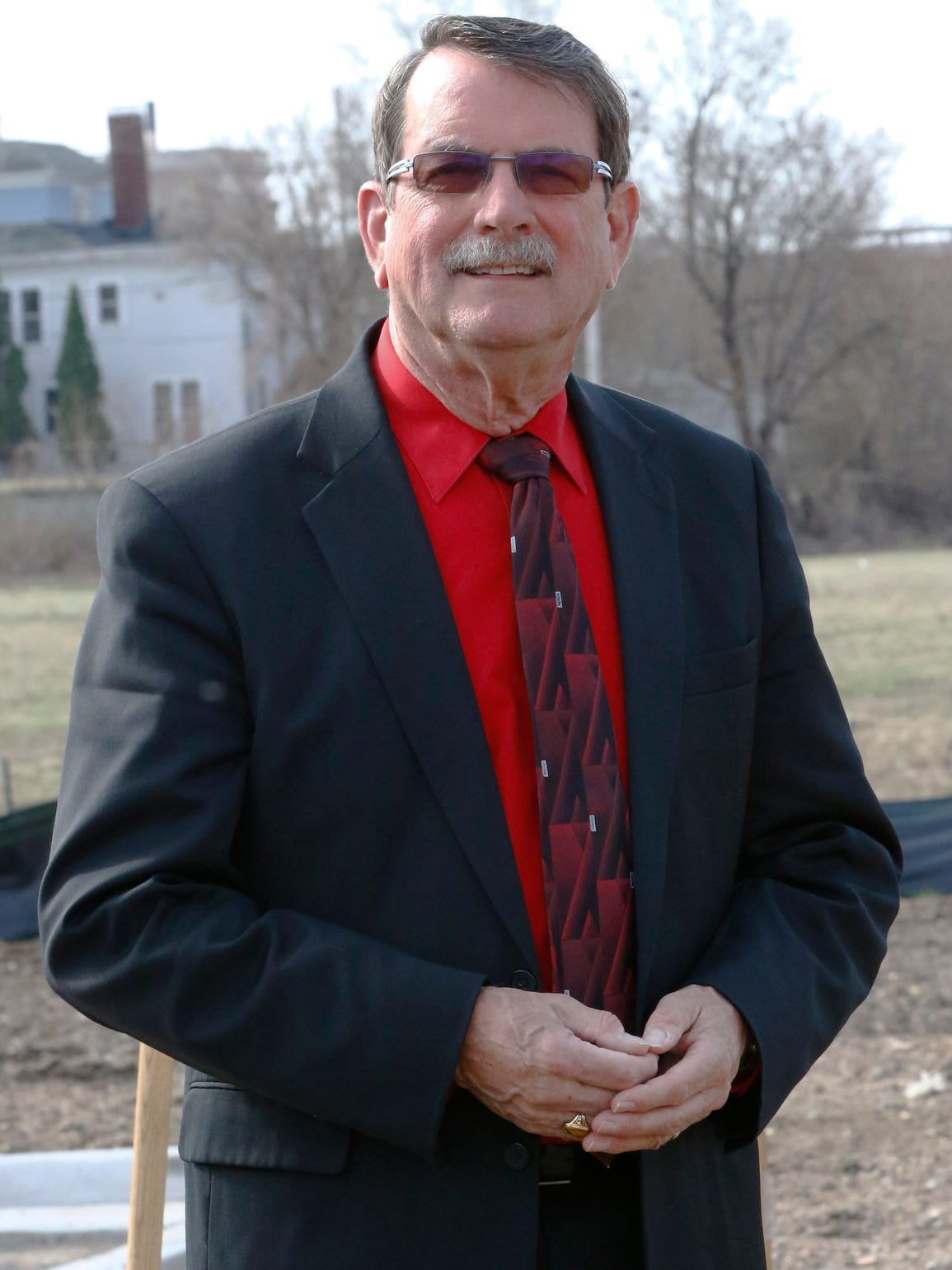 Wausau Mayor Jim Tipple poses for a photo Monday morning,