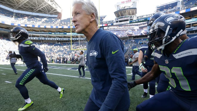 Pete Carroll has led the Seahawks to two Super Bowls with the current core of players. The team remains a clear contender, but its core is aging.