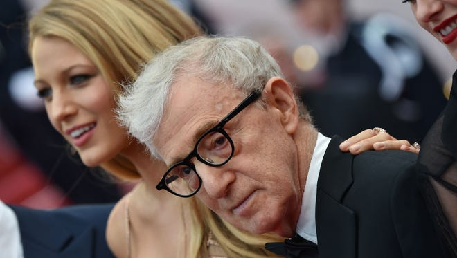 A French comedian made a crack comparing Woody Allen to Roman Polanski, who was convicted of having sex with a minor.