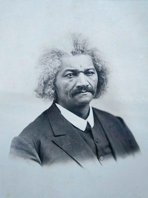 Newly discovered Frederick Douglass photograph at the Rochester Public Library.