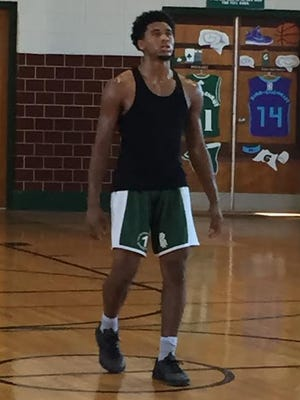St. Patrick's shooting guard Marcus McClary committed to Monmouth University on Tuesday afternoon