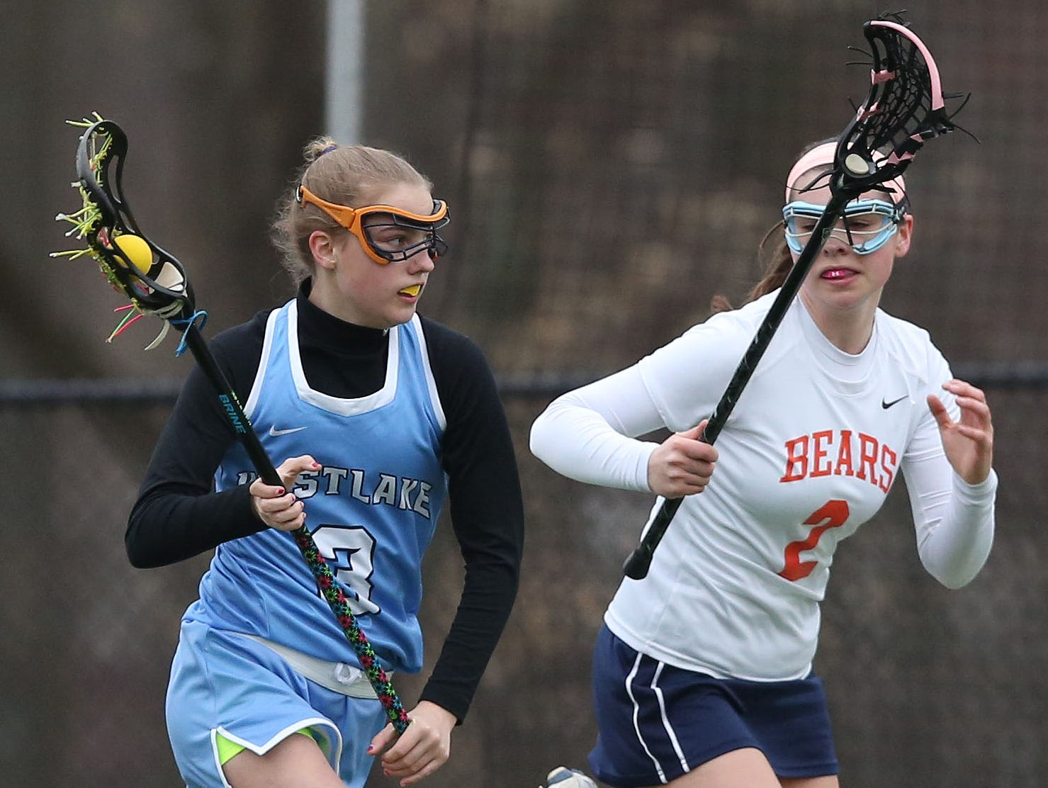 Briarcliff defeated Westlake 15-9 in the championship game of the Mt. Pleasant Cup girls lacrosse tournament at Briarcliff High School March 24, 2016.
