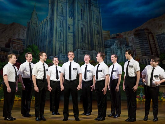 """The Book of Mormon"" in Washington, D.C., Nov. 17, 2017. The show was set to be at Artis—Naples from Dec. 19-24, 2017."