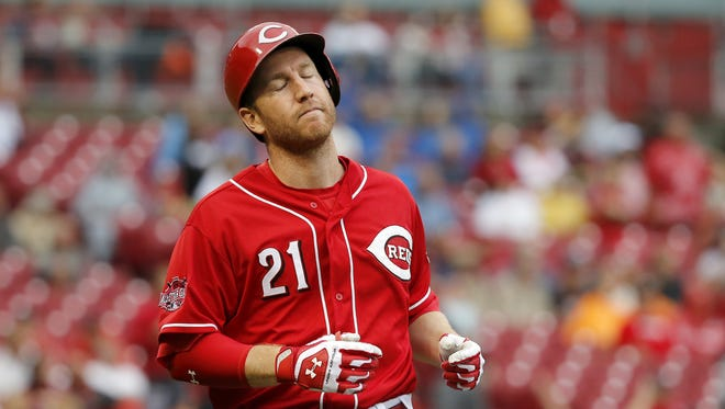 The Reds traded Todd Frazier Wednesday afternoon.