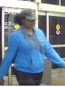 State police say this woman has been using a cloned credit card.