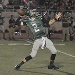 Dinuba quarterback Isaac Leppke will return for his second year as a starter for the Emperors.