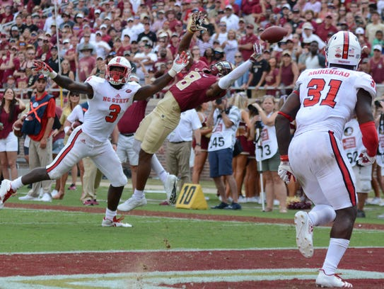 Florida State's offense entered the red zone six times