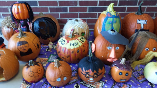 Halloween pumpkin project offers students an opportunity to improve their English Language Arts skills.