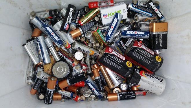 ABC Cleaning will take their customers' spent batteries for recycling.