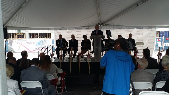 A $280 million project to modernize the Methodist University Hospital campus kicked off Oct. 5, 2016.