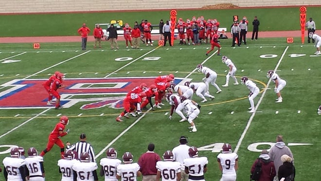 Clifton and Passaic faced off at Boverini Stadium on November 24, 2016.