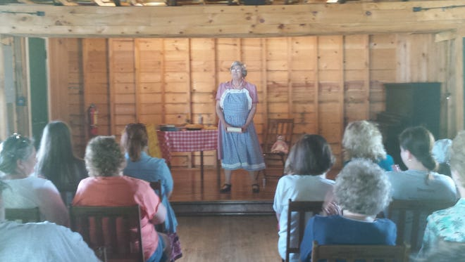 Reenactor Jessica Michna (pictured) will portray Laura Ingalls Wilder during an Ingalls Tea Party beginning at 2 p.m. July 18.