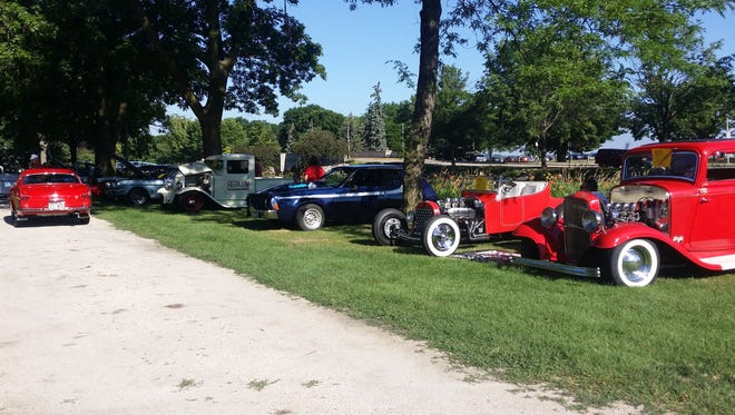 Vintage cars will be on display at Car-A-Funda Charity Car Show held at Lakeside Park's Oven Island on July 30.