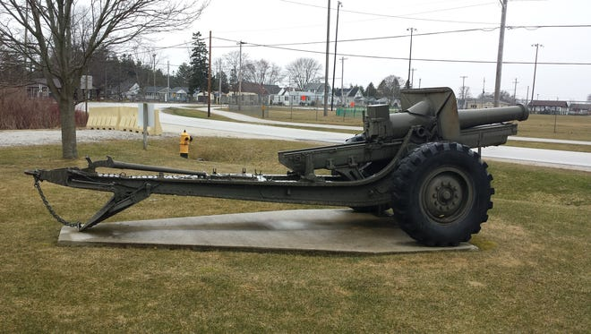 Red Arrow Park in Manitowoc will soon be home to a World War I- and World War II-era M1917A4 155 mm Howitzer cannon.