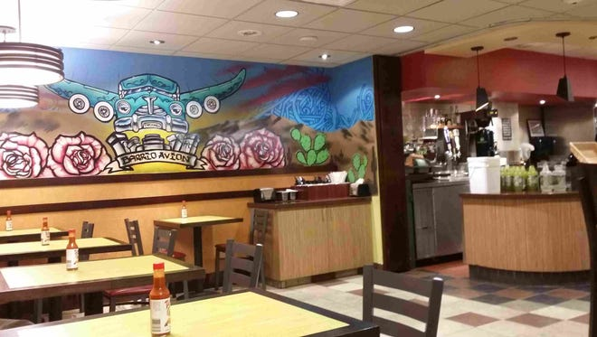 Chef Silvana Salcido Esparza, of Barrio Cafe, opened a build-your-own burrito concept called Barrio Avion past security at Terminal 2, home to United Airlines, Alaska Airlines and Great Lakes Aviation.