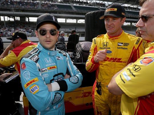 Andretti Autosport IndyCar driver Marco Andretti (27)