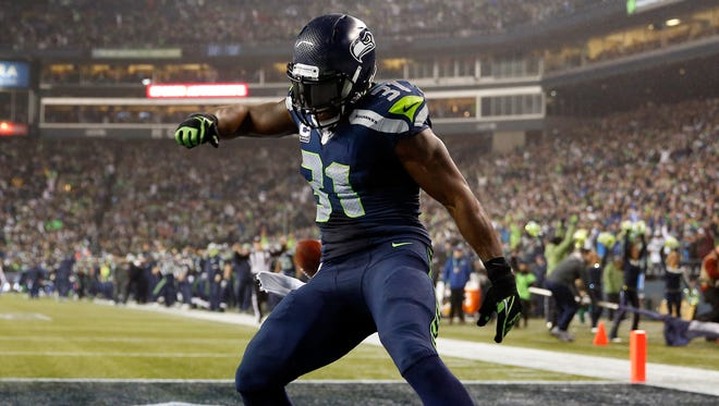Seahawks SS Kam Chancellor puts Saturday's win on ice with his pick six.