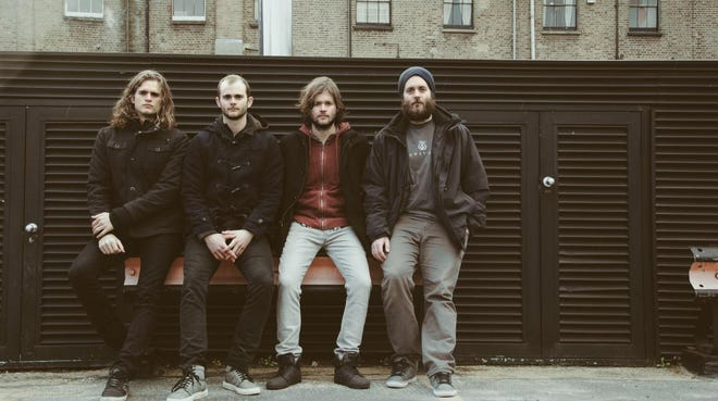 Dylan (left), Danny, Jesse and Johnny Kongos of rock quartet Kongos.