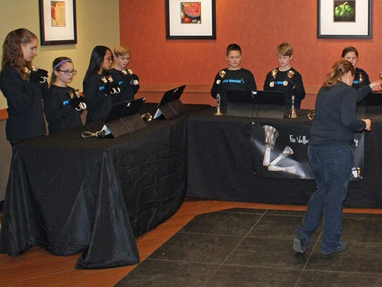 The FVCA Ringers Hand Bell Choir has been privileged