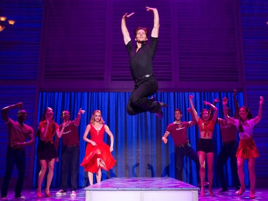 """Christopher Tierney plays Johnny Castle in the musical """"Dirty Dancing"""""""