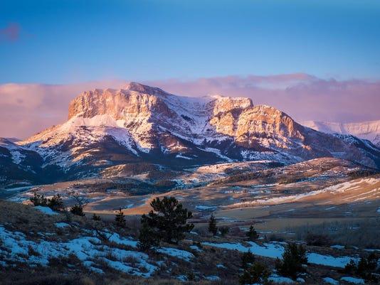 1 MAIN Bynum sunrise FAL 1227 Book Montana's Rocky Mountain Front