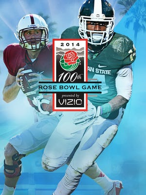 Michigan State takes on Stanford in the Rose Bowl.