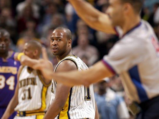 Jamaal Tinsley was tops among NBA rookies in assists