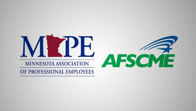 MAPE and AFSCME logos