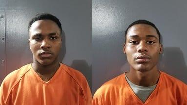 Phillip Joseph, left, and Xavier Bryant