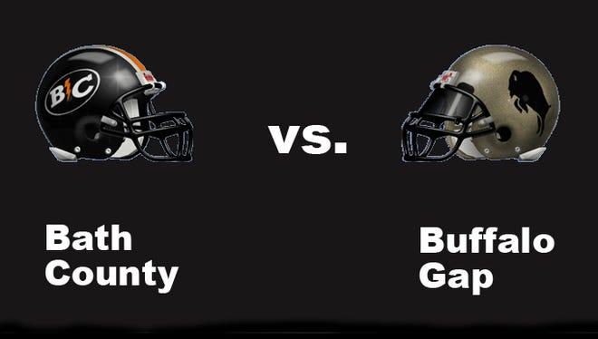 Bath County vs Buffalo Gap high school football