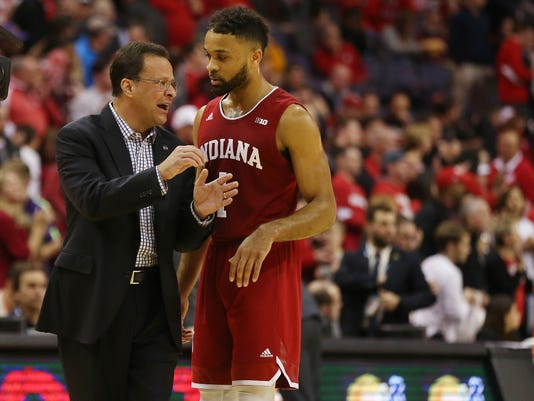 NCAA Basketball: Big Ten Conference Tournament-Indiana vs Wisconsin