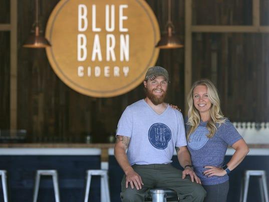 Greece's Blue Barn Cidery