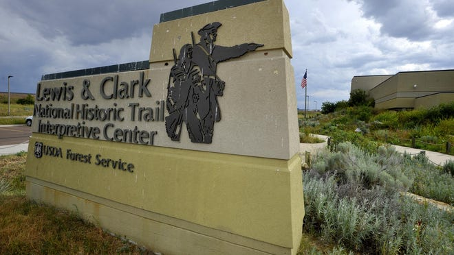 The Lewis and Clark Interpretive Center will reopen Saturday on a limited basis.