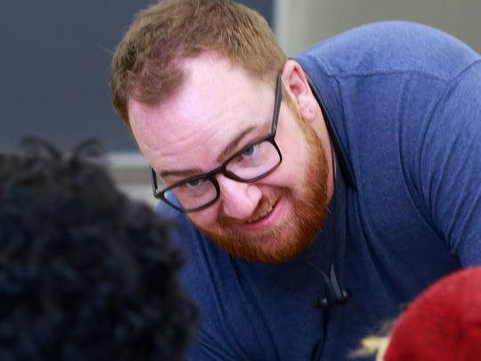 Charles Sandidge of Cultivating Coders says the nonprofit group Teach for America funded the eight-week coding workshop at Shiprock High School that came to an end Friday.