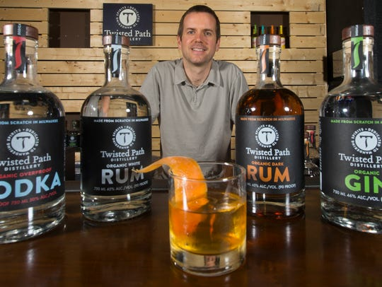 Distiller Brian Sammons took an unusual path to the distillery business. He previously worked in counterterrorism operations.