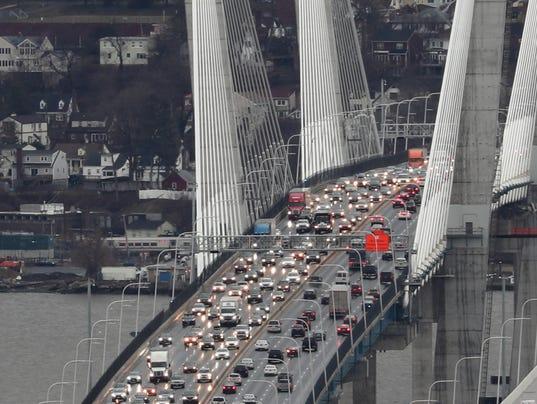 Gov. Mario M. Cuomo bridge traffic