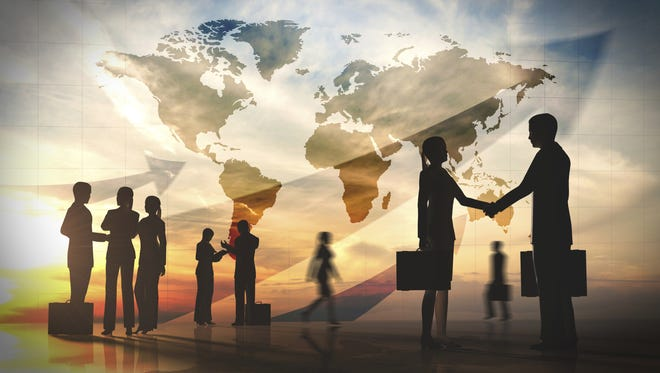 The world economy is expanding faster than that of the United States. Going global could be a way to expand or protect market share.