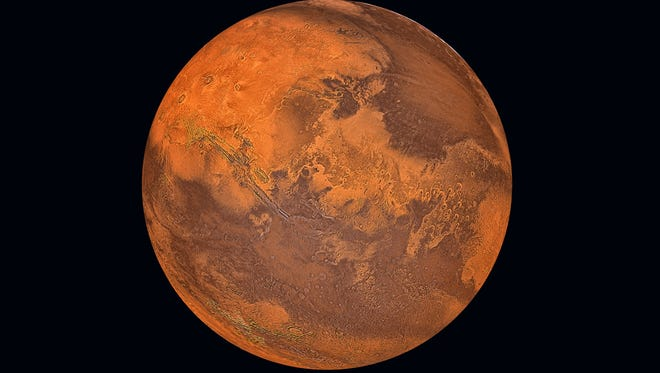 NASA said there isn't enough carbon dioxide on Mars to terraform the planet, according to a study released Monday. But Elon Musk disagreed, saying there's plenty available.