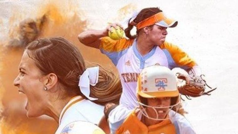 The Lady Vols softball team is headed to the college