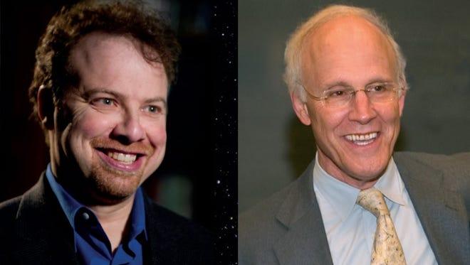 Adam Riess and David Gross